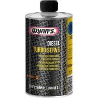 Очиститель турбины дизельного двигателя Wynns Diesel Turbo Serve, банка 1 л 1/12
