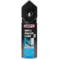 Очиститель обивки салона Wynns Carpet Upholstery Cleaner, аэрозоль 400 мл с щеткой 1/6