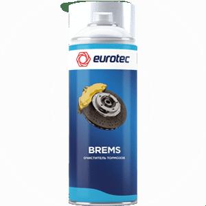 Очиститель тормозных механизмов Eurotec Brems, аэрозоль 500 мл